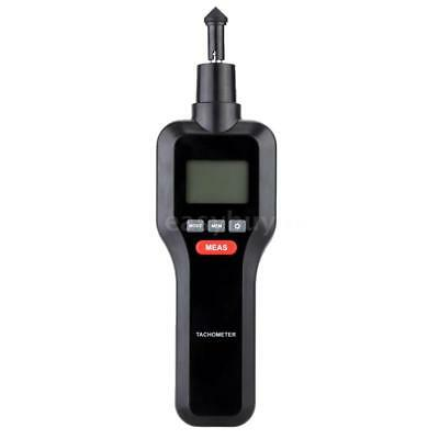 2 In 1 Non-Contact & Contact Digital Laser Tachometer Rotate Speed W/LCD E9N3
