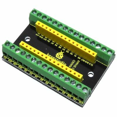 Keyestudio Arduino NANO Screw Terminal Breakout Shield KS0250 IO Flux Workshop