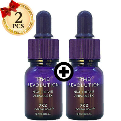 [MISSHA] Time Revolution Night Repair Science Activator Borabit Ampoule 10ml 2ea