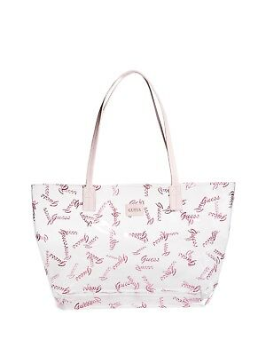 GUESS Factory Women's Ellie Clear Logo Tote