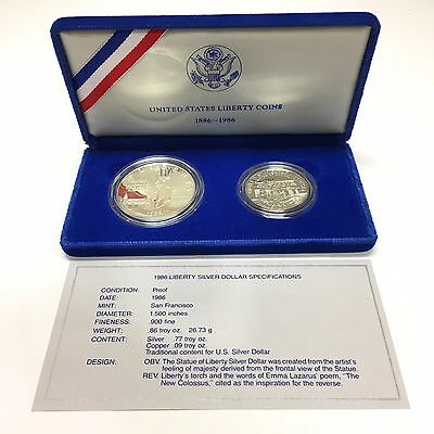 1986-S Statue of Liberty Half Dollar Clad Commemorative Proof