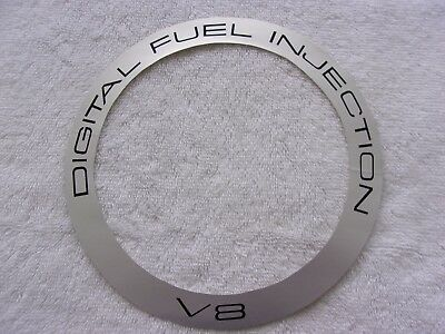 G M Cadillac 84 Eldorado Digital Electronic Fuel Injection V8  Air Cleaner Decal