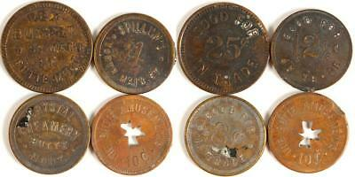 Four Butte, Montana Tokens (Two R6) Lot 3294