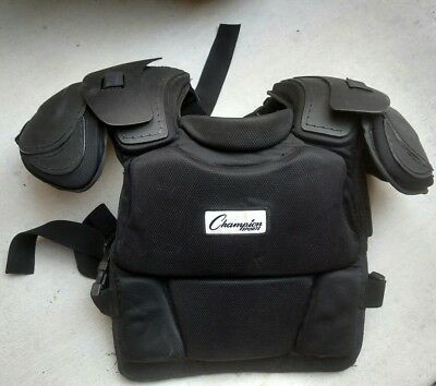 Champion Sports Low Rebound Foam Professional Umpire Chest Protector P180