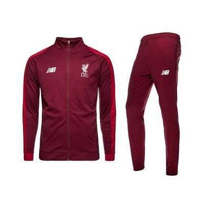 New Balance Liverpool Training Presentation Tracksuit 2018/19 - Red Marl - Mens