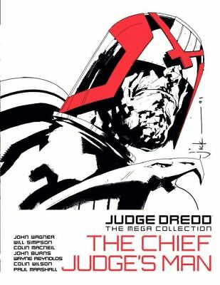 Judge Dredd The Chief Judge's Man Hardback ***NEW***FREE POSTAGE***