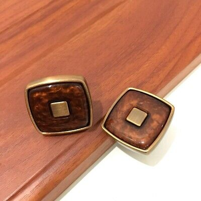 Vintage Small Cabinet Pull Knobs with Screw Watch Knob Cabinet Pull Handle