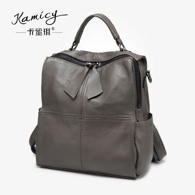 Kamicy 2018 new style 100% cow leather handbag multi-functional shoulder bag 09d9e3b643c28