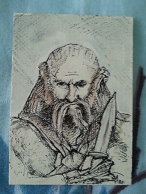 Dualin Lord Of The Rings The Hobbit Sketch Card