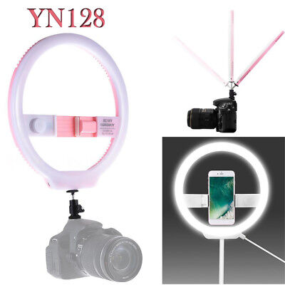YONGNUO YN128 Camera Photo Studio Video 128 LED Ring Light for iPhone X 7 8 plus