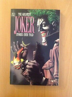 The Greatest Joker Stories Ever Told / FIRST PRINTING TOP ZUSTAND TPB