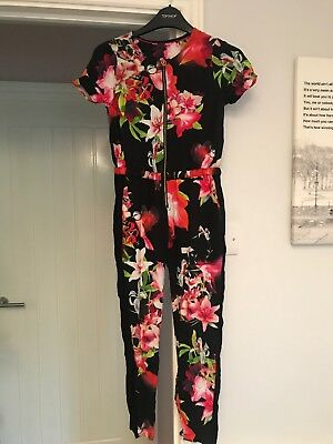 Ted Baker girls jumpsuit/playsuit age 8-9