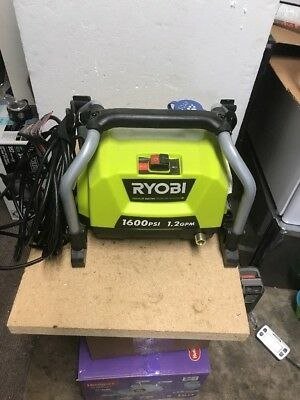 FOR PARTS REPAIR Ryobi 1600 Electric Pressure Washer- Washer ONLY