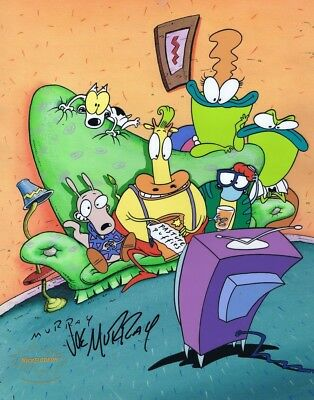 ROCKO'S MODERN LIFE Cell Limited Edition Cel Nicktoons Joe Murray SIGNED Rare