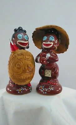 Two Vintage Tribal Ceramic Statuettes  Lot(523-02)KF