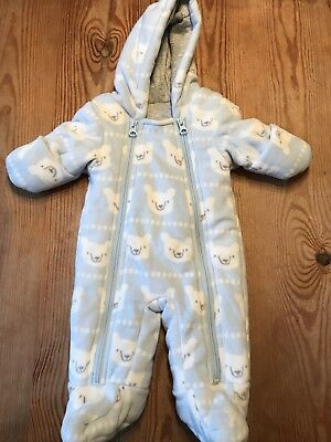 M&S Marks and Spencer's Newborn Snowsuit