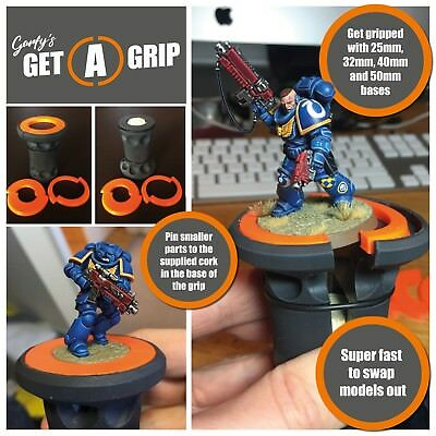 Garfy's Get-a-Grip Painting Handle Miniature Model Holder