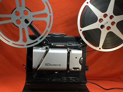 SINGER INSTALOAD/XL 16mm SOUND PROJECTOR IN IMPECCABLE CONDITION - MUST SEE
