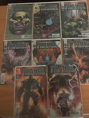 THANOS #13-#18, Annual and Thanos #1, Varient all First Printings