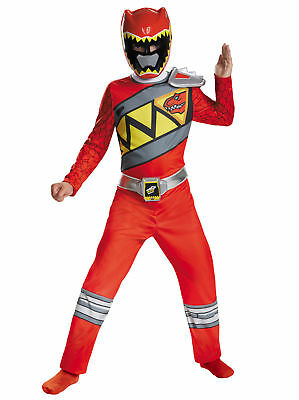 Red Ranger Saban's Power Rangers Dino Charge Superhero Boys Costume