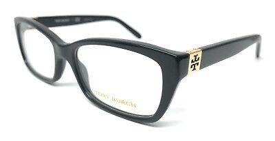 89a69d0b14 New Tory Burch Ty2049 1377 53Mm Shiny Black Authentic Eyeglasses Rx-Able