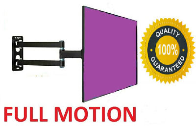 Full Motion TV Wall Mount Articulating 24 32 37 40 42 Inch LED LCD Flat Screen A