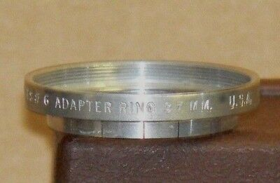 Tiffen Series #6 37mm Slip-On Lens Adapter w/Retaining Ring