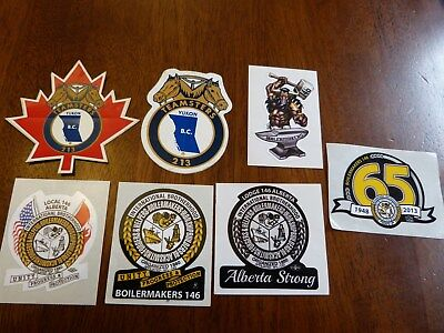 Decals Union Teamsters & Boilermakers