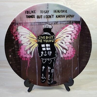 """ROYAL DOULTON - PURE EVIL Street Art PLATE """"Beautiful Things"""" Limited Edition"""