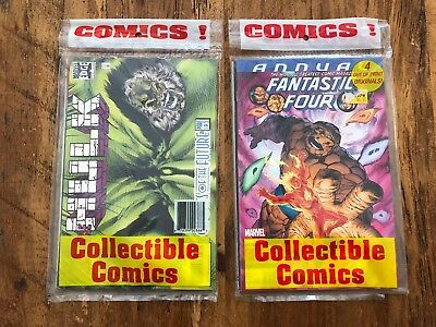 2 Four Packs of Sealed Comics Included Fantastic Four 2099 (1996) #1 1996