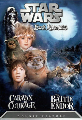 Star Wars Ewok Adventures: Caravan of Courage/ The Battle for Endor REGION 1 **