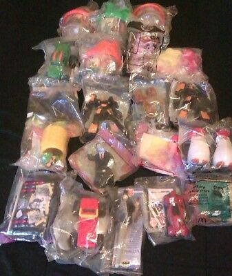 Bulk sealed Mcdonalds Toys 20 from 1992-2018-some very collectible