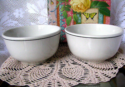Steelite International Set of Two Fruit Bowls Steelite International Soup Bowls