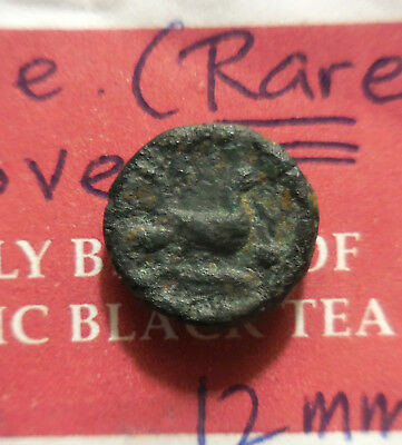 Rare! Skione, Aphrodite, Dove! 400-350 BC, Ex R. Cutler Collection 12 mm, 1.95 g