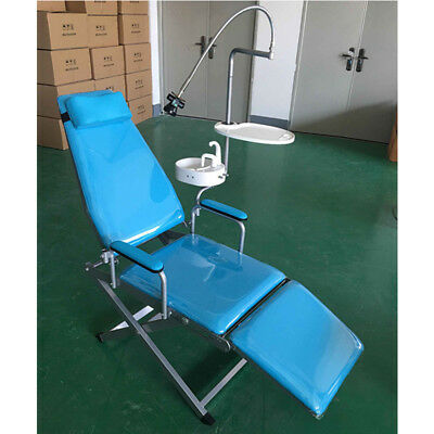 Dental Portable Folding Chair+LED Surgical Light Lamp+Water System Supply USA