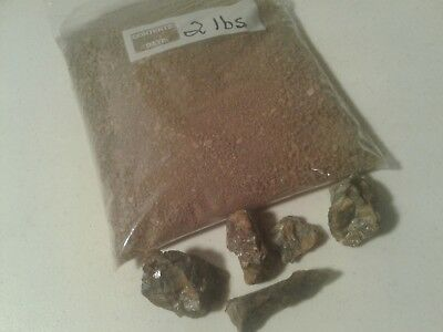 Panning Combo-2 LBS Gold Paydirt/Gravel PLUS The Chunks of Gold Ore Shown