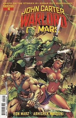 JOHN CARTER WARLORD OF MARS, V.1 #4 COVER A~2015~1st PRINT~NEW~ BAGGED & BOARDED