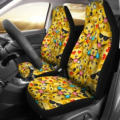 808db1ea JEEP AMERICAN FLAG Bandana Yellow Smiley Face Front Seat Cover Towel ...