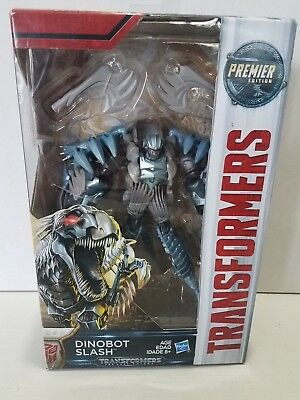 NEW! Hasbro Transformers: The Last Knight Premier Edition Deluxe Dinobot SLASH