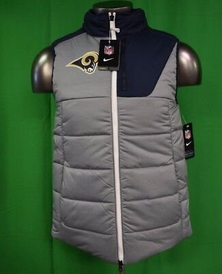 38559fb256e4 NIKE MENS NFL Los Angeles Rams Winter Vest NWT  125 S -  49.99 ...
