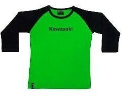 Kawasaki Ladies Raglan T-Shirt Range of Sizes