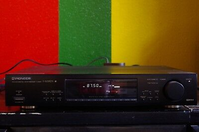 Pioneer F502 RDS HiFi Stereo Tuner