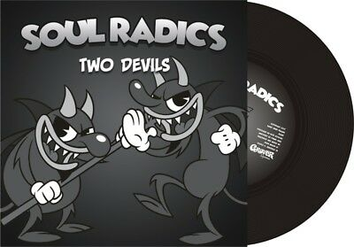 "SOUL RADICS * Two Devils + Stormy Weather 7"" ltd. black vinyl *Ska"