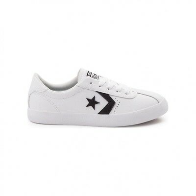 194c2dbb6579 CONVERSE KIDS BREAKPOINT White Leather trainers Junior - Size Uk 10k ...