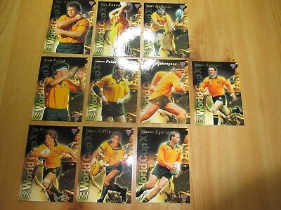 Futera Rugby Sports Trading Cards: Wallabies Arfu, 1995. Insert Cards Rwc 1991