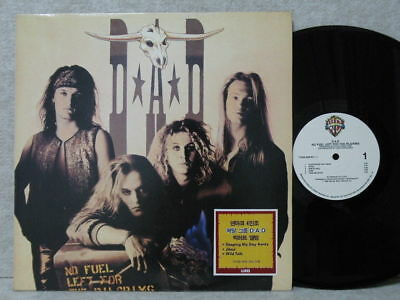 Dad No Fuel Left For The Pilgrims 1989 Lp Picture & Lyric W/in + Poster Nm ~ M-