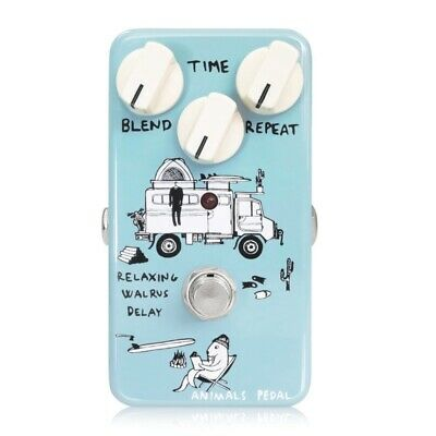 Animals Pedal Relaxing Walrus Delay Guitar Effect Pedal