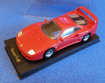 Cartronic the club  Slotcar Ferrari F40 Carrera 132 Auto Rennbahn TRONICO OVP