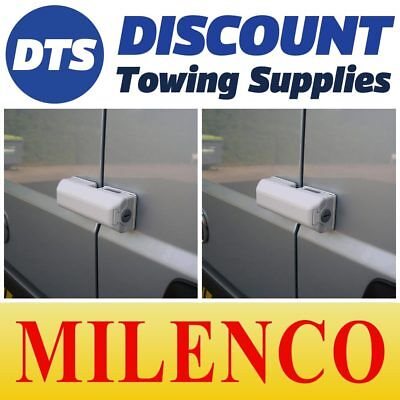 Milenco Van Door High Security Dead Lock X2 Matched Keys Fits Nissan Primastar