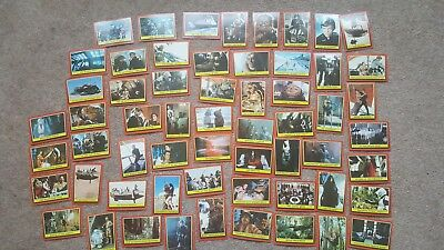 Vintage Collectable Joblot Of Rotj Series Star Wars Bubblegum Trading Cards